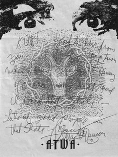 Charles Manson Letterhead, 2006 Life Support System, Letters Of Note, Cosmic Art, The Muppet Show, Charles Manson, Letterhead Design, Handwritten Letters, Ray Charles, Modern Typography