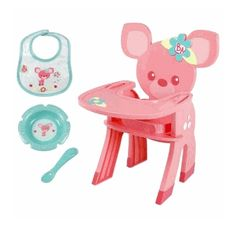 Baby Alive Feature Accessory - Snack Time High Chair