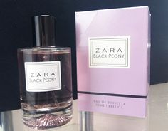 In love with...ZARA Black Peony Perfume