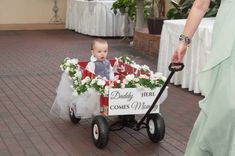 The sweet changing face of weddings..Mommy, here comes Daddy. Linton Photography of Delaware