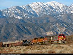 RailPictures.Net Photo: BNSF 4702 BNSF Railway GE C44-9W (Dash 9-44CW) at Cajon Pass, California by Joe Blackwell