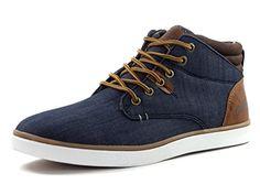 Herren Sneaker Freizeitschuhe CULTZ DA4427 (41, Blau (dunkel blau/braun)) - http://on-line-kaufen.de/fugo/41-eu-herren-sneaker-freizeitschuhe-cultz-da4427