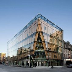 2-22 Office Building is a Glass-Encased High-Performance Landmark in Montreal