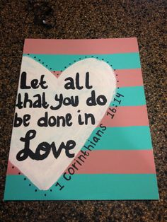 Custom Bible Verse Painting By BonnieBelleShop On Etsy 1700