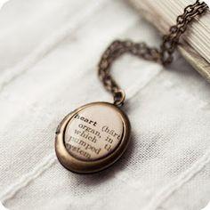 heart definition locket