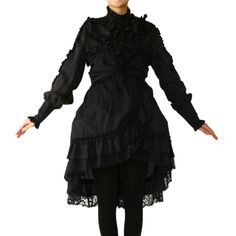 MARBLE black dress ¥ 5,990 including tax No notation size Length: 92cm Width: 42cm West: 40.5cm Polyester: 100% Nylon: 100% Shearing: None Rank B: dirt-free used clothes Used Lolita clothing shop Wunderwelt http://www.wunderwelt.jp/products/detail798.html