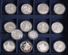 VR China silver coins 14 different issues with a troy weight from approximate 240 Gr.    Dealer  Badisches Auktionshaus    Auction  Minimum Bid:  130.00EUR