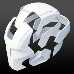 Mark 16 Night Club helmet My own model. Iron Man Cosplay, Cosplay Armor, Iron Man Helmet, Iron Man Suit, Iron Man Armor, Impression 3d, Iron Man Hand, Armadura Cosplay, Foam Armor