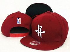 Houston Rockets NBA Mens State Flective Redux Fashion Caps Red Adjustable Hat ** You can get more details by clicking on the image.