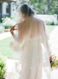 #lace, #veils  Photography: Michael & Anna Costa Photographers Ltd. - michaelandannacosta.com Event Design + Planning: XOXO BRIDE - xoxobride.com Floral Design: Camilla Svensson Burns Couture Floral and Event Design - camillaflowers.com  Read More: http://www.stylemepretty.com/2013/04/03/ojai-wedding-from-xoxo-bride-michael-anna-costa-photography/
