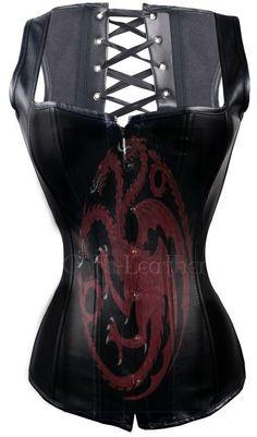 leather bodice