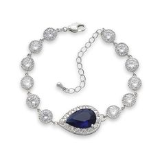 Shop online for bridal & wedding jewellery at Poetry Designs in Australia. Bridal earrings, necklaces, bracelets and more! Wedding Bracelet, Wedding Jewelry, Blue Bridal, Crystal Wedding, Blue Crystals, Bridal Earrings, Blue Sapphire, Poetry, Rose Gold