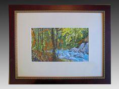 Gouache painting by Chris Benvie