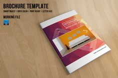 Interior Brochure | Catalog-V532 by Template Shop on @creativemarket