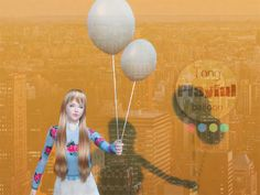 Sims 4 CC's - The Best: Balloons and Poses by Simstong