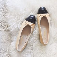 Classic Chanel flats are a must-have in every fashion girl's closet.