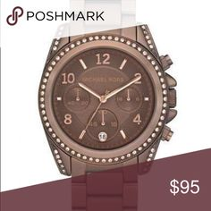 Michael Kors MK 5614 watch Chocolate color. Great condition. Comes with a small MK box and bag. Michael Kors Accessories Watches