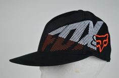 #Fox #Racing #210 #Fitted #Black #Baseball #Cap #Hat #Size #6-7/8- 7 1/4 #Embroidered #Logo #FoxRacing #BaseballCap