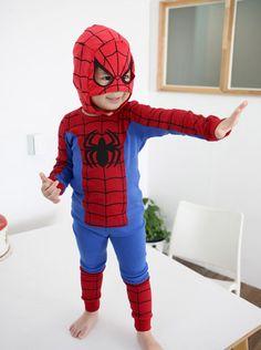 Boys clothes / Kids / Spider Man costume / Halloween
