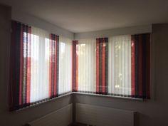 Stores lamelles verticales de 89 mm, EL Ziros panachées Store Lamelle, Decoration, Curtains, Home Decor, Bedding, Indoor Window Shutters, Home Decoration, Decor, Blinds