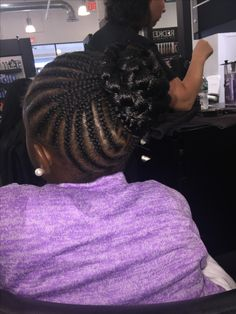 Braided protective styles