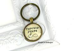 Schlüsselanhänger - Schlüsselanhänger Forever Yours (A020) - ein Designerstück von windstill-wolkenfrei bei DaWanda