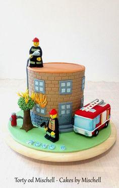 Lego fireman by Mischell