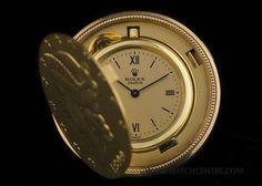 Rolex 18k Yellow Gold Cream Dial Rare 20 Dollar Coin Vintage Watch