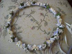 Christening or bridesmaid garland by FavorsAndMorebyFiona on Etsy, €25.00