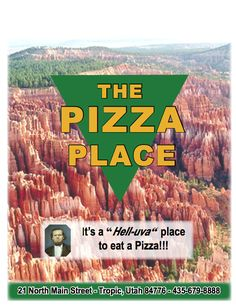 Bryce Canyon Pizza in Tropic, Utah about 5 miles from our hotel. Good reviews