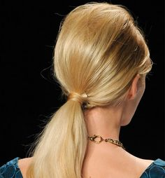 1960s ponytail tutorial