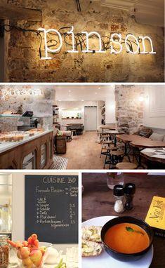 CAFÉ PINSON, Coffe Shop healthy & vegan - 6 rue du Forez 75003 Paris, France - 09 83 82 53 53