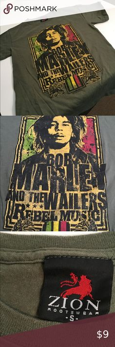 Spliff Smoking Bob Marley Mens Reggae T-Shirt Music And The Wailers Jamaica Weed