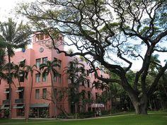 Pink Palace - Royal Hawaiian Hotel, Honolulu, Hawaii