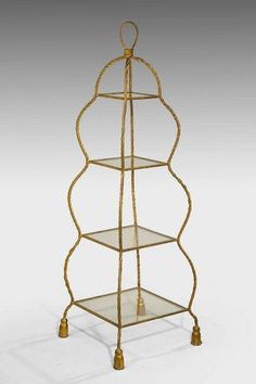 Early 20th Century French Etagere