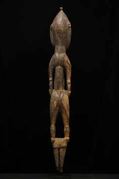 """female """"nogwi"""" figure from the Kwoma culture area of the Washkuk Hills north of the Middle Sepik River"""