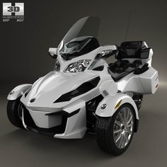 3D model of BRP Can-Am Spyder RT 2014 by Humster3d.com - $75