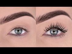 My loves you are gonna LOVE this hack! You can use ANY mascara and powder combo you already have to achieve super long, thick lashes – and its so easy! Get Long Eyelashes, Big Lashes, Thick Lashes, Longer Eyelashes, Eyelashes Grow, Natural Lashes, Mascara Brush, Fiber Lash Mascara, Mascara Tips