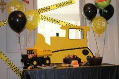 Construction party Birthday Party Ideas | Photo 1 of 7 | Catch My Party