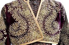 Jacket with metalic embroidery and pearls Ottoman Empire 19th c (Private collection Linda Pastorino)