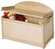 toy box plans | Toy boxes and toy chests any child will love to have ...
