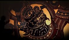 Season of Cambodia | Credit: Cambodia Living Arts. Shadow puppets. Amazing project amazing friend!
