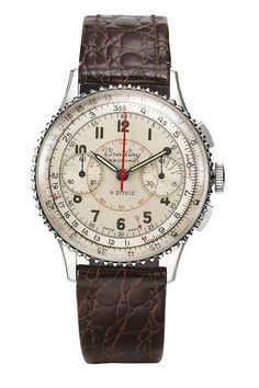 The @breitling Chronomat (1941) was based on a patent document that granted protection for an instrument-style wristwatch with a circular slide rule.  This timepiece attracted many aficionados in sports and industry, and technicians appreciated its special features, which made their work easier.  More @ http://www.watchtime.com/featured/5-milestone-breitling-watches-from-1915-to-today/ #breitling #watchtime #menswatches