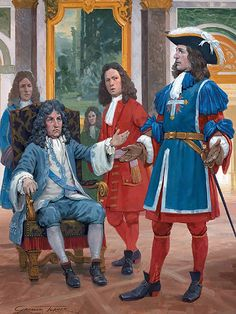 King's Musketeer: Approval of a new uniform, 1688.