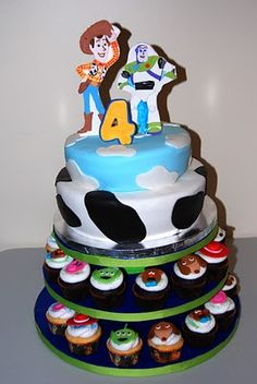 Toy Story Cake LIKE THE CUPCAKES