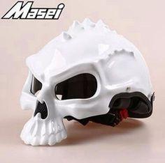 Half-Face Skull Helmet - 8 Colors