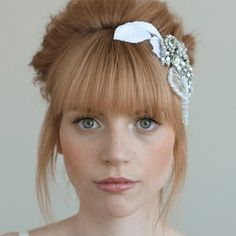 Haute Bangs- love the color too!