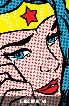 Pop Art Wonder Woman.