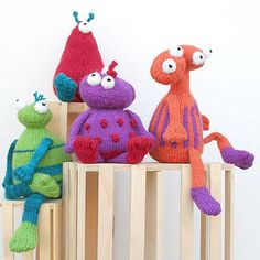 Take Me to Your Leader by Knitting at Knoon