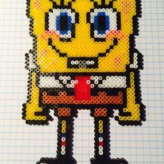 SpongeBob hama beads by lolocop